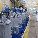 اتمام پروژه ساخت 35 دستگاه الکتروپمپ 7.5 کیلووات به سفارش پالایشگاه آبادان