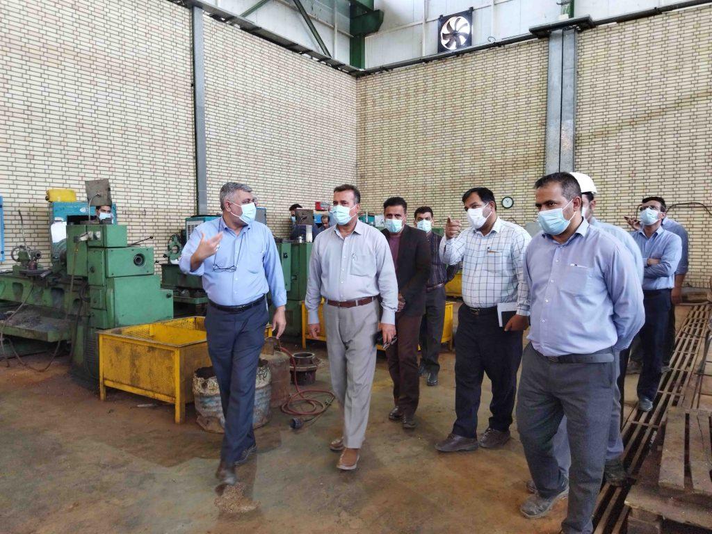 بازدید مدیرعامل آب و فاضلاب اهواز از شرکت راصد صنعت توسعه