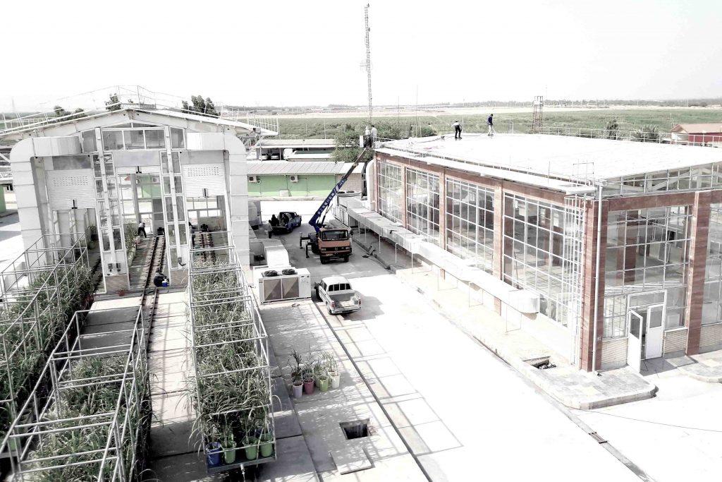 احداث گلخانه موسسه تحقیقات آموزش نیشکر